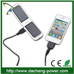 New design solar mobile phone charger case for iphone ipad 1350mAH