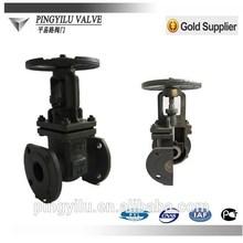 good price pound/light 2-way rising stem gate valve made in china