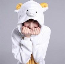 Funny magic sexy carnival mascot christmas adult sheep costume