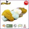 arte y artesanía de hilados de fantasía de hilados para tejer la bufanda