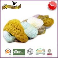 Art and craft yarn fancy yarn for knitting scarf