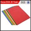 eva laminated foam sheet /color high quality eva foam sheet