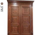 modern solid teak wood main double door design