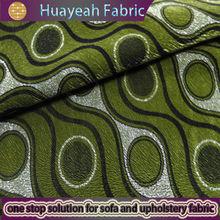 hot sale fantasy flock printing fabric design