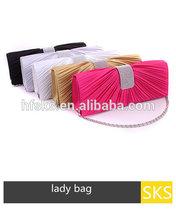 Popular design evening clutch hand bag party bag