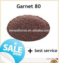 Hardest minerals rough garnet stone/ water jet cutting