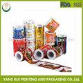 Confezione pellicola caramelle rotolo, rullo di pellicola di plastica imballaggi alimentari, la cina imballaggio film