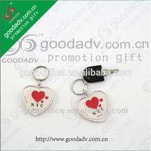 Different shape blank acrylic keychain Photo frame key chain