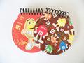 Material escolar produtos de papel de capa dura qualquer em forma de caderno espiral