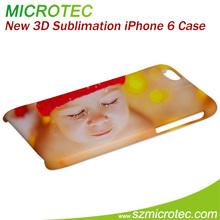 Sublimation 3D Bulk Case for iPhone 6, case for apple iphone 6