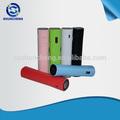 Nuevo diseño! El suministro de energía de la batería recargable de energía logo banco 2600 mah con led
