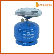Butane and Propane Gas Use 2KG Lpg Gas Cylinder Size