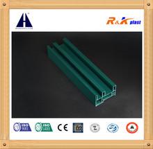 Full Color 80 Sliding Series Europe Style Plastic PVC Profile Extrusion PVC Profiles