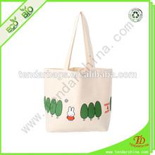 eco shopper cotton bag for shopping or travel carry