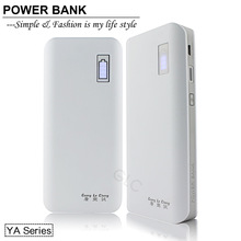 Promotional price ! RoHS/MSDS certification manufacturer wholesale 13000mah aa battery power bank