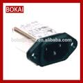 Tomada de alimentação SP-864E2 tomada de metal box \ americano saída \ tomada elétrica 230 v
