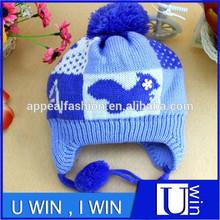 Wool warm hat baby hat crochet pattern