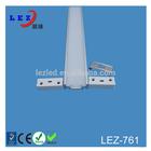 Extrusion aluminium led lighting profile kits for LED Strips Lighting