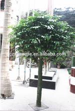 SJZZY915 decoration for indoor & outdoor use artificial ficus tree / banyan tree