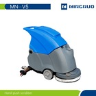 MN-V5 hand-push scrubber,floor washing machine,for supermarket and office floor cleaning