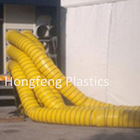 Polyester Vinyl Coated fabric flexible ventilation ducting