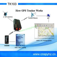 New Car/vehicle GPS tracker GPS104 TK103 GPS tracking system Car GPS tracking device