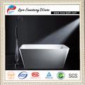 prezzo di fabbrica 1500x680x560mm solido com composito pietra vasca quadrata