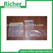 Clear Custom LDPE Plastic Ziplock Bag for Food Packing