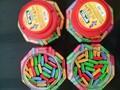 Jjw mixte. bazooka saveurs de fruits bubble gum tatouage