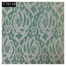lace fabric for children fancy dress jacquard elastic with lace fabric lace fabric with crochet flowers