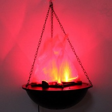 Halloween Artificial Silk Effect Flame Light / Fire Lamps LED bulb Chandelier Light fen fire halloween decoration FC90006