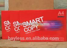 excellent smart copy a4 pape & office a4 paper price per ton