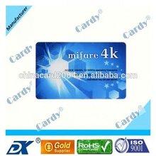 iso14443a 13.56mhz rewritabel RFID card/RFID label/RFID sticker for access control