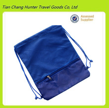 new arrival cheap popular two compartment drawstring school bag for student