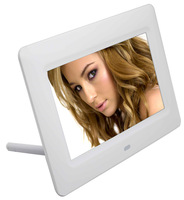 "7"" full function digital photo frame support English /French/Spanish/German ...language"