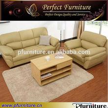 Pfs31361s Italienischen Leder Sofa Hersteller In Drawroom