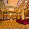 Meilleure qualité hôtel de luxe tapis avec beau modèle