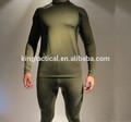 Competitice preço militar underwear, tática underlong deinverno de lã de manga underwear para o tempo frio, pano térmica long john