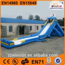 Big Dragon Slide/large Inflatable Slide For Factory Outlets