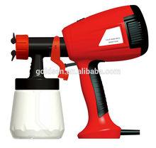 400W Mini HVLP Hand Held Electric Spray Gun Electric Paint Sprayer Portable GW8176