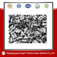 light weight astm b338 gr.2 titanium tube for titanium exhaust system/gr12 seamless titanium tube