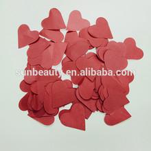 Wedding favor Heart shaped paper confetti