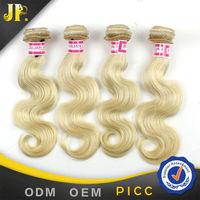 6A Grade JP Hair 18 18 18 Inch 3 Pcs a Lot Body Wave Virgin Brazilian Hair 613 Blonde Hair Weave