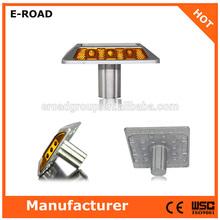 waterproof 6 LED Aluminum solar road stud road marker