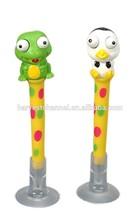 plastic promotion custom cartoon ball pen