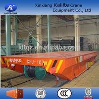 Industrial 4 wheel steel trailer