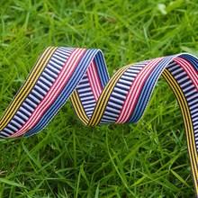 Factory custom woven elastic tape fashion elastic band