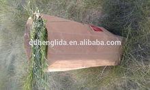 hot sale !!100% biodegradable square bottom large craft paper garbage bags manufacturer