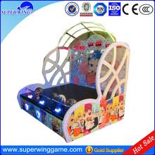 Kids basketyball game for 3 children arcade street basketball game machine