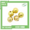 Wholesale metal iron beads, fashion iron beads, round gold beads